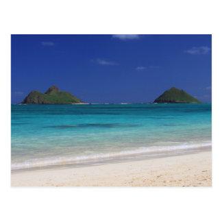 Carte Postale Plage Hawaï de Lankai