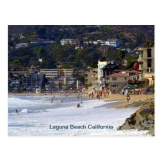 Carte Postale Plage principale Laguna
