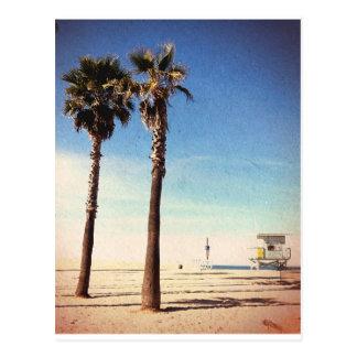 Carte Postale Plage vintage de Venise