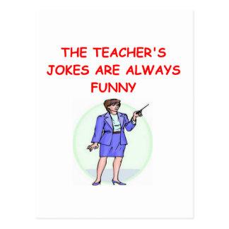 Carte Postale plaisanterie d'éducation