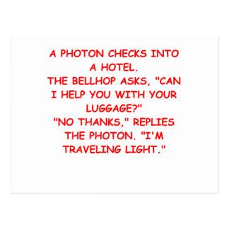Carte Postale plaisanterie légère