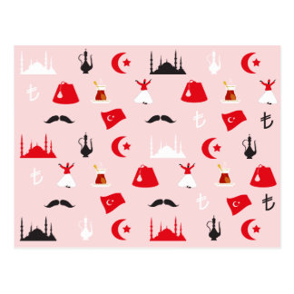 Carte Postale Plaisir turc