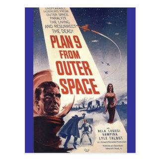 """Carte Postale Plan neuf d'espace extra-atmosphérique """""""