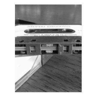 Carte Postale Plan rapproché de bande magnétique de cassette