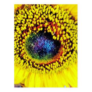 Carte Postale Plan rapproché jaune