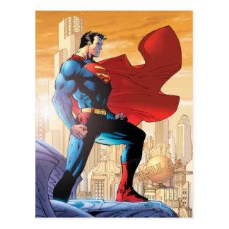 Carte Postale Planète quotidienne de Superman