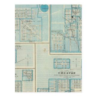 Carte Postale Plans de Shenandoah, Bedford
