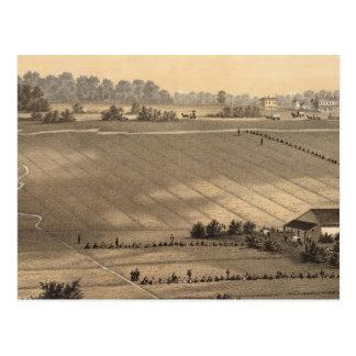 Carte Postale Plantation de canneberge de forge de Stafford,