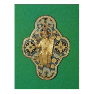 Carte Postale Plaque dépeignant la bénédiction de Dieu