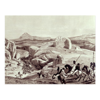 Carte Postale Plateau de Wadela, gravé par J.Ferguson