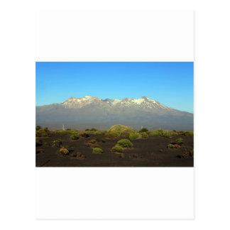 Carte Postale Plateau volcanique Nouvelle Zélande de Ruapehu de