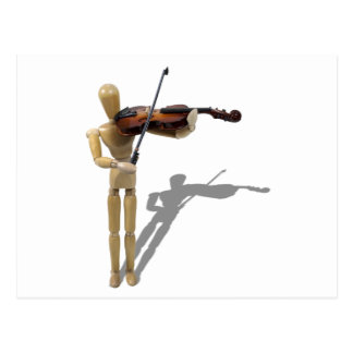 Carte Postale PlayingViolin081210