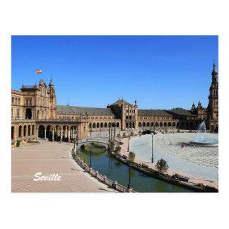 Carte Postale Plaza de España, Séville