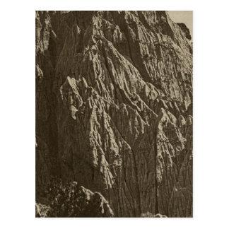 Carte Postale Pleuvoir la sculpture, crique Canon, Utah de sel