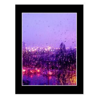 Carte Postale Pleuvoir vers le bas sur moi