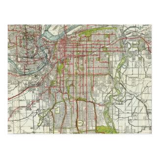Carte Postale Plus grande Kansas City