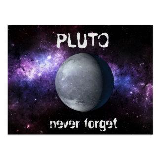 Carte Postale Pluton