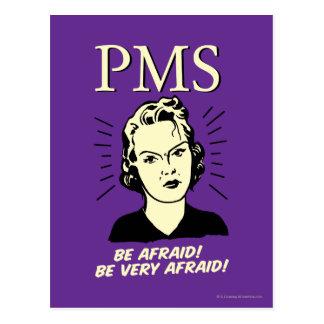 Carte Postale PMS : Ayez peur