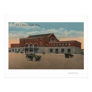 Carte Postale Pocatello, identification - vue extérieure