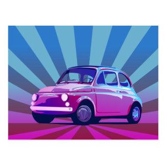 Carte Postale Poche de Fiat 500