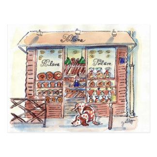 Carte Postale Poilane Boulangerie Paris