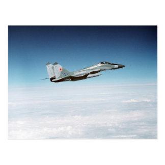 Carte Postale Point d'appui MiG-29