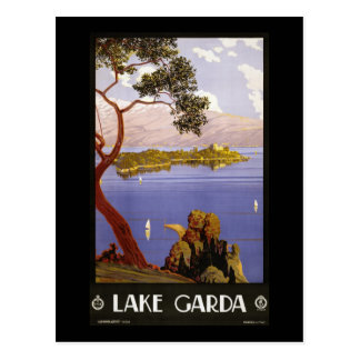 Carte Postale Policier de lac