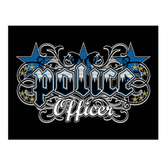 Carte Postale Policier ornemental