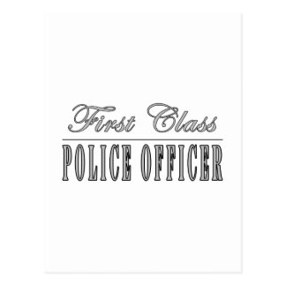 Carte Postale Policiers : Policier de première classe