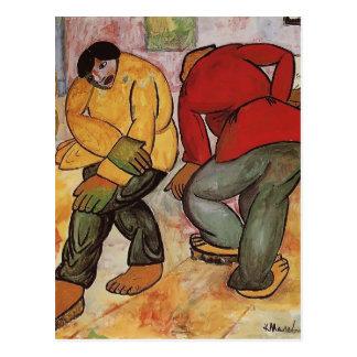 Carte Postale Polisseurs de plancher de Kazimir Malevich-