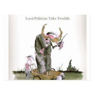 Carte Postale politiciens de Yorkshire d'amour
