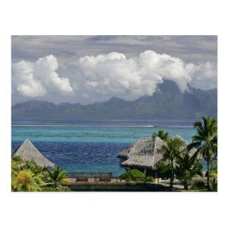 Carte Postale Polynésie française, Moorea. Une vue de l'île