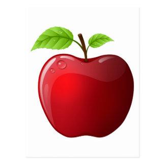 Carte Postale pomme