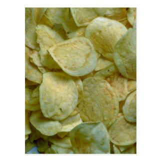 Carte Postale Pommes chips croustillantes