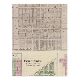 Carte Postale Pomone, Richmond, Ferguson et Peoria