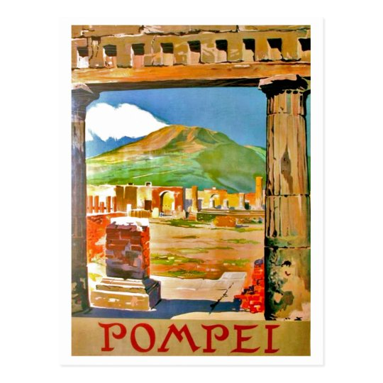 Carte Postale Pompéi, site archéologique, Italie | Zazzle.fr