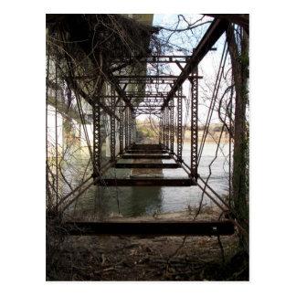 Carte Postale Pont abandonné sur l'île de belle