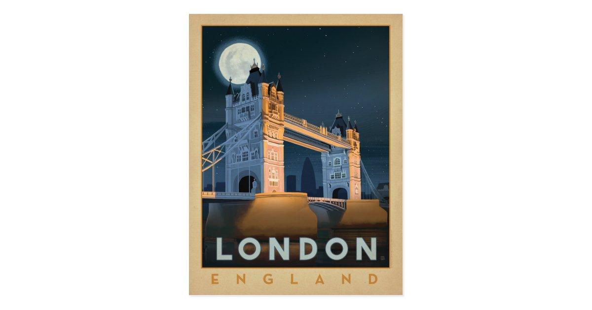 Carte Postale Pont | Angleterre de Londres | Zazzle.fr