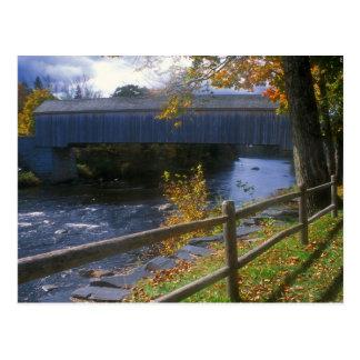 Carte Postale Pont couvert Guilford Sangerville Maine de Lowes