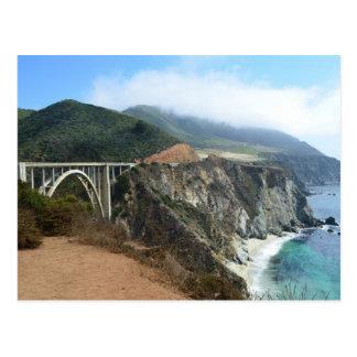 Carte Postale Pont de Bixby sur la grande côte de Sur de la