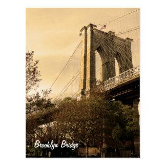 Carte Postale Pont de Brooklyn de Brooklyn (personnaliser il !)