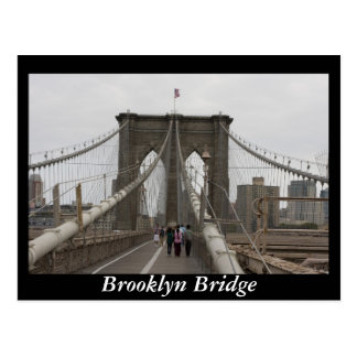 Carte Postale Pont de Brooklyn, New York