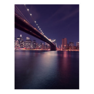Carte Postale Pont de Brooklyn, New York City
