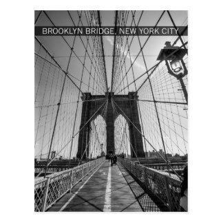 Carte Postale pont de Brooklyn, New York City