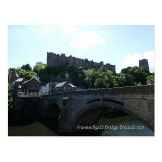 Carte Postale Pont de Framwelgate