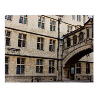Carte Postale Pont de Hertford (aka pont des soupirs), Oxford