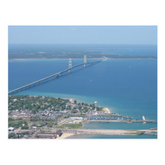Carte Postale Pont de Mackinac