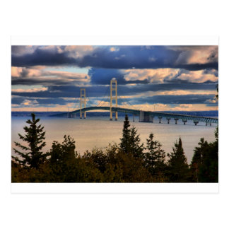 Carte Postale Pont de Mackinac 1060