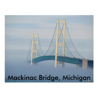 Carte Postale Pont de Mackinac, Michigan