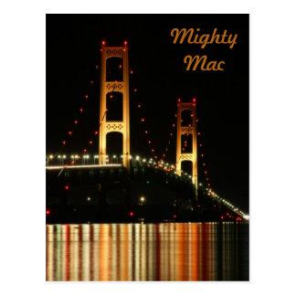 Carte Postale Pont de Mackinaw